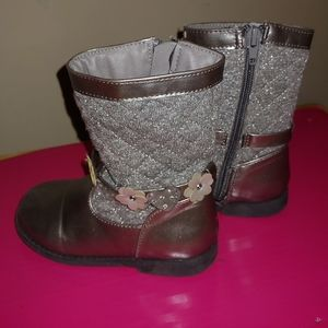 Rampage Girls silver boots